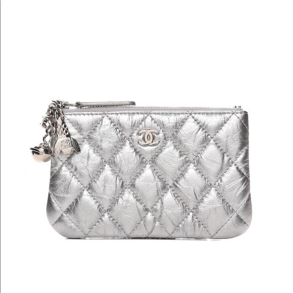 4d4fd9e1d4b6ec CHANEL Bags | Metallic Calfskin Quilted Cosmo Ocase | Poshmark